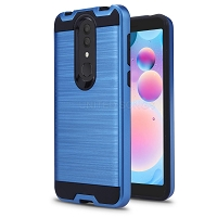 Alcatel 3V 2019 Hybrid Case Blue